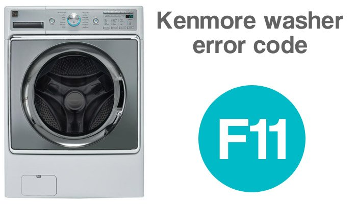 Kenmore washer error code f11