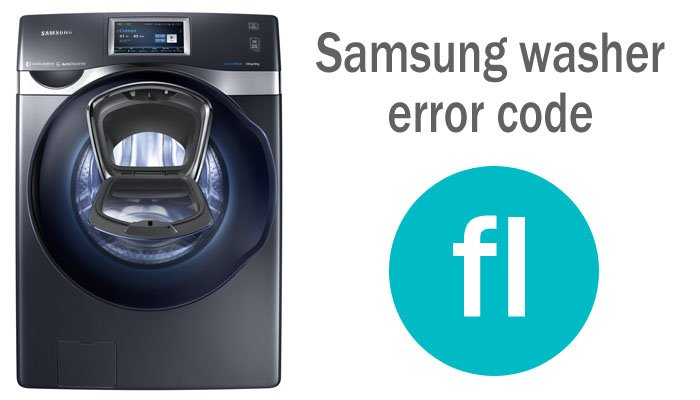 Samsung washer error code fl