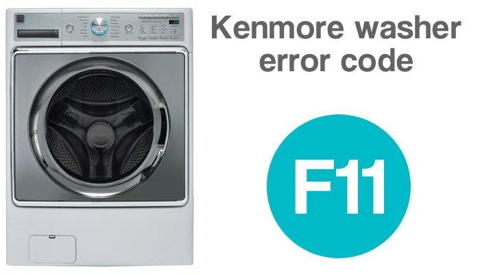 Kenmore washer error code f11