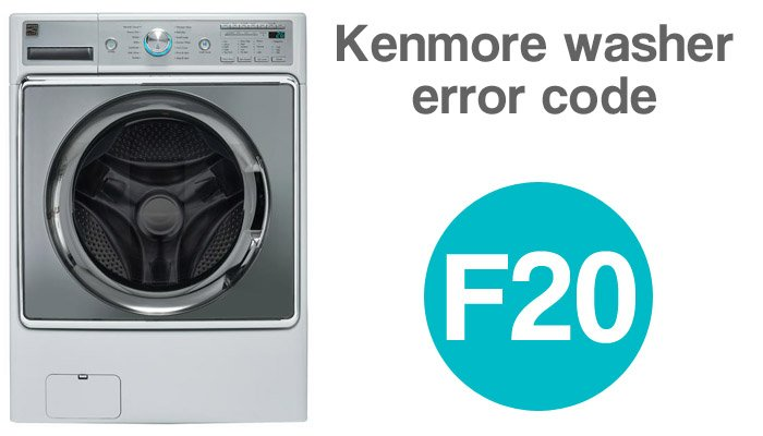 Kenmore washer error code f20
