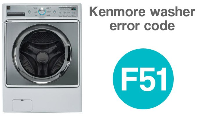 Kenmore washer error code f51