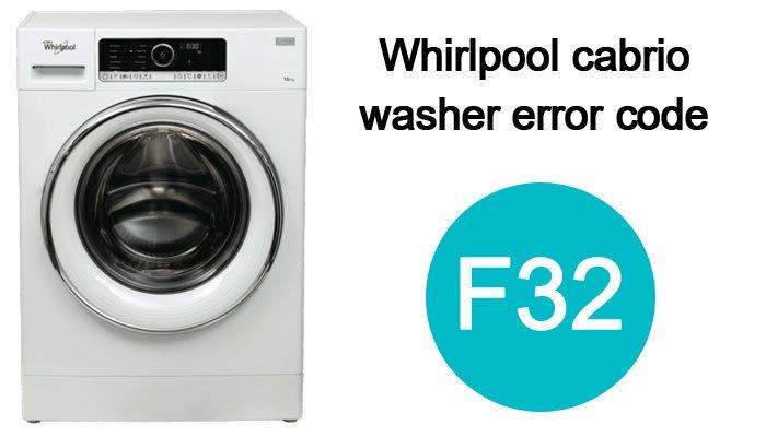 Whirlpool-cabrio-washer-f32-error-code