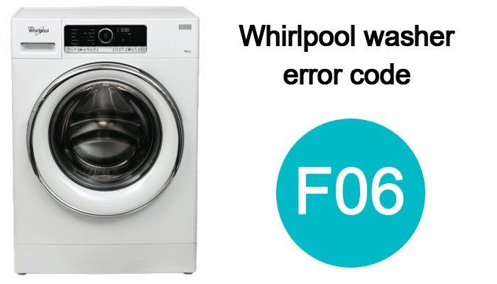 Whirlpool-washer-error-code-f06