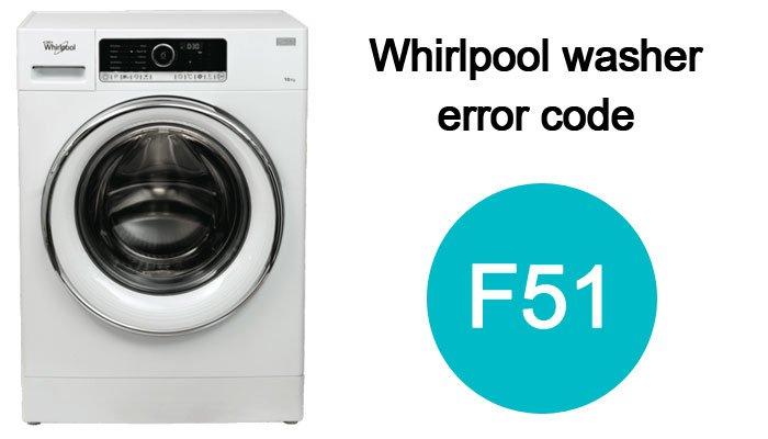 Whirlpool-washer-error-code-f51