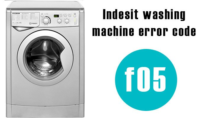 Indesit washing machine f05 error code