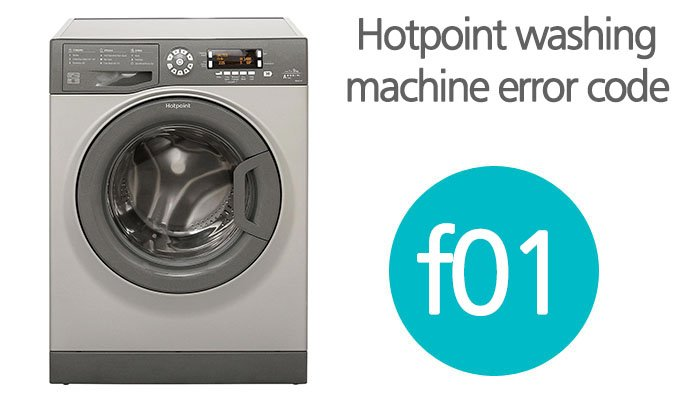 Hotpoint washing machine error code f01