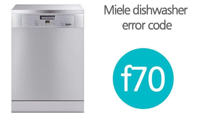 Miele dishwasher f70 error code