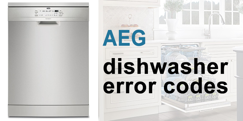 Aeg dishwasher error codes