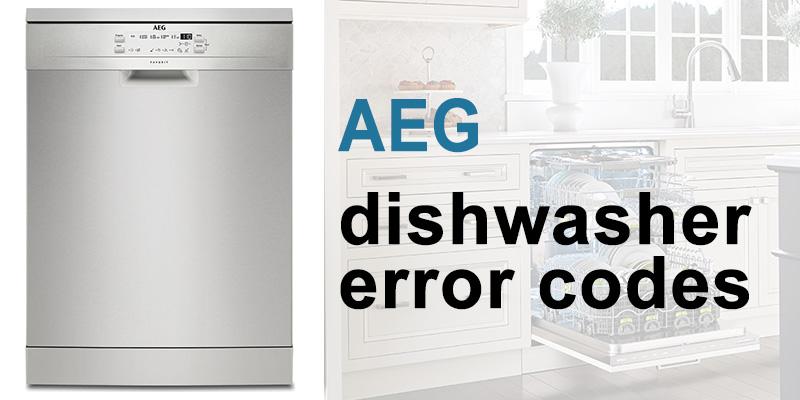 Aeg dishwasher error codes