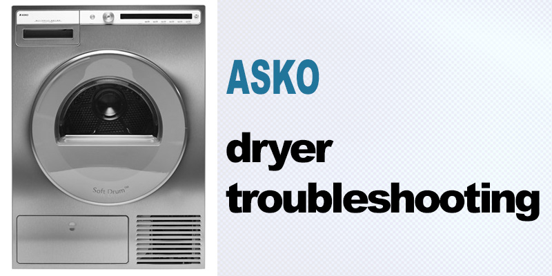 Asko dryer troubleshooting