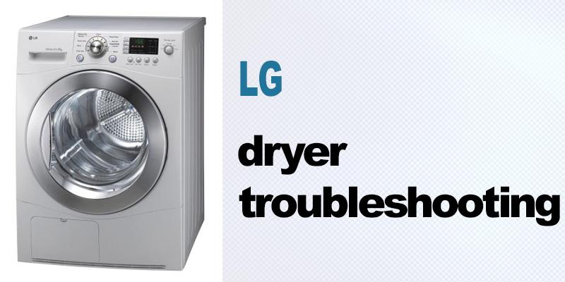 LG dryer troubleshooting