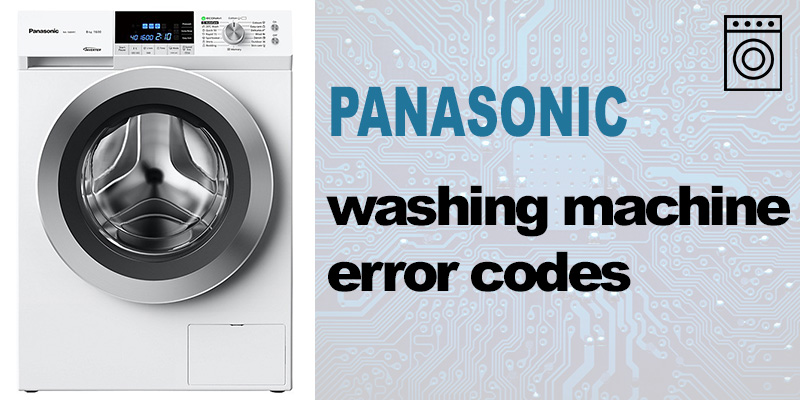 Panasonic washing machine error codes